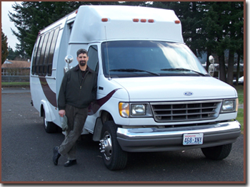 Martin's Shuttle Van for Tours