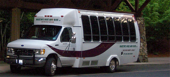 20 Passenger Tour Bus