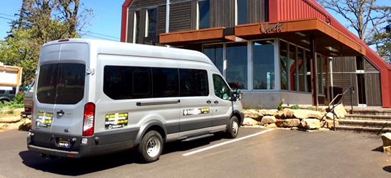 14 Passenger Tour Bus